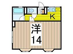 シティハイム・フヂエールIII[1階]の間取り