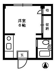 高田FOS[2階]の間取り