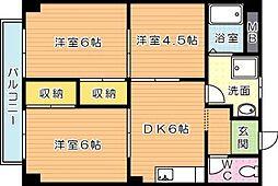サンライフ松尾[2階]の間取り