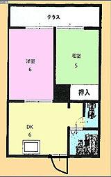 メゾン駒込101[2階]の間取り