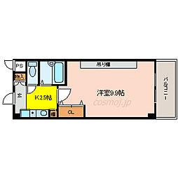 桜ケ丘晴楽館[2階]の間取り