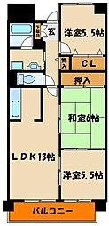 スペランツァ西神戸[1階]の間取り