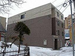 北海道札幌市中央区南十二条西14丁目の賃貸マンションの外観