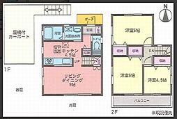 [一戸建] 神奈川県藤沢市湘南台3丁目 の賃貸【/】の間取り