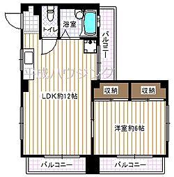 カーサ・ボニータ[3A号室]の間取り
