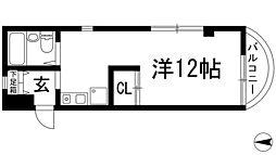 ユーカリハウス[2階]の間取り