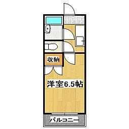 メゾン桃栄II[107号室]の間取り