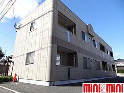 佐賀県佐賀市道祖元町の賃貸アパートの外観