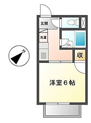 SurplusOne錦[2階]の間取り
