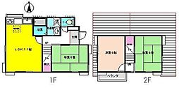 [一戸建] 埼玉県吉川市栄町 の賃貸【/】の間取り
