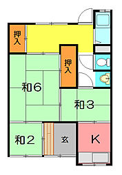 [一戸建] 兵庫県尼崎市下坂部1丁目 の賃貸【/】の間取り