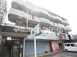 神奈川県厚木市愛甲1丁目の賃貸マンションの外観