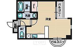 ハイムタケダT-9[12階]の間取り