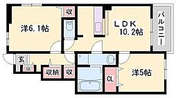 御着駅 6.0万円