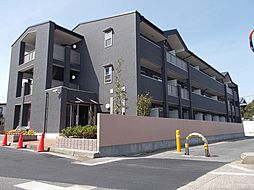 京都府八幡市八幡軸の賃貸マンションの外観