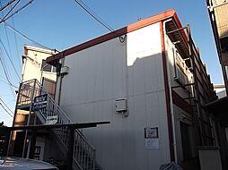京都府城陽市平川大将軍の賃貸アパートの外観