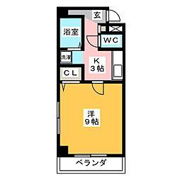 プチメゾン・F[2階]の間取り