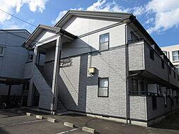 宮城県仙台市青葉区小田原5丁目の賃貸アパートの外観