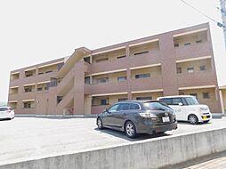 山梨県甲斐市大下条の賃貸マンションの外観