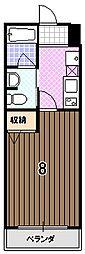 サクシード里ノ内[3階]の間取り