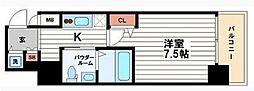 ステージグランデ堺筋本町[14階]の間取り
