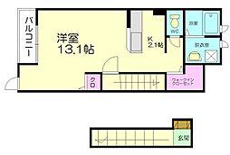 アグレアブルハウス桜[2階]の間取り