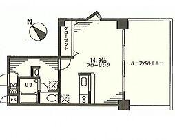 プリムローズM弐番館[201号室号室]の間取り
