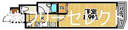 アリビオ博多駅東[7階]の間取り
