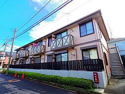 東京都清瀬市野塩4丁目の賃貸アパートの外観