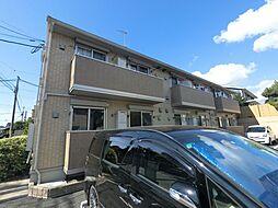 千葉県佐倉市並木町の賃貸アパートの外観