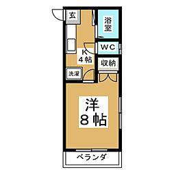 グレイスIII[1階]の間取り