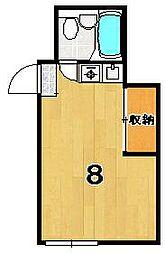 大宮ハイツ奥田[506号室]の間取り