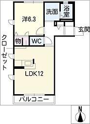 KapellIII[1階]の間取り