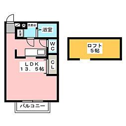 Lino[2階]の間取り