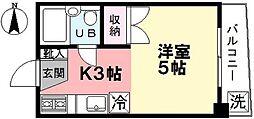 ハイツユタカ[305号室]の間取り