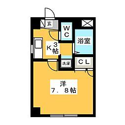 小田島アパート[3階]の間取り