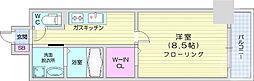 レガーロ仙台駅東 7階1Kの間取り