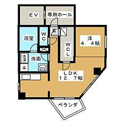 アスカタワー[2階]の間取り