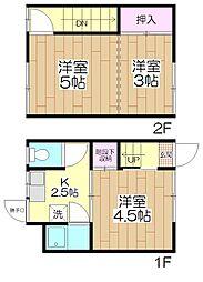 鈴木アパート[3号室号室]の間取り