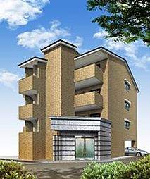 京都府京都市北区上賀茂松本町の賃貸マンションの外観