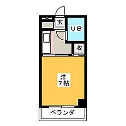 篠原ビル[4階]の間取り