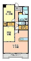 コンフォート西神戸[5階]の間取り
