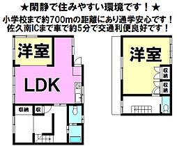 中込駅 1,200万円
