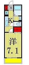 NAO House (エヌエーオーハウス)[2階]の間取り