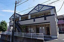 千葉県松戸市小金原4丁目の賃貸アパートの外観