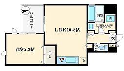 FLAT34-UESHIO[3階]の間取り