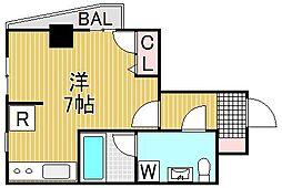 PARK STAGE・K(パークステージ・ケー)[4階]の間取り