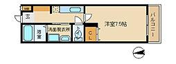 兵庫県姫路市船丘町の賃貸マンションの間取り