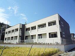 京都府八幡市八幡西高坊の賃貸アパートの外観