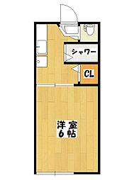 ピュアハウス市川[2階]の間取り